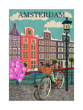 Amsterdam City Background