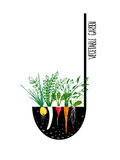 Grow Vegetable Garden and Cook Soup Raster Variant