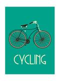 Retro Bike Poster