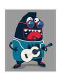 Rock Star Monster  Guitar