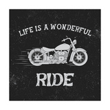 Vintage Label with Motorcycle Vintage StyleTypography Design for T-Shirts