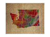 WA Colorful Counties