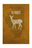 IL State Minimalist Posters