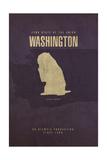 WA State Minimalist Posters