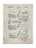 PP4 Antique Grid Parchment