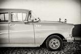 Cuba Fuerte Collection B&W - Trinidad Classic Car III