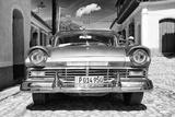 Cuba Fuerte Collection B&W - American Classic Car in Trinidad VII