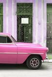 Cuba Fuerte Collection - Pink Classic Car