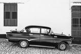 Cuba Fuerte Collection B&W - Trinidad Classic Car II