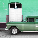 Cuba Fuerte Collection SQ - Old Green Car