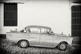 Cuba Fuerte Collection B&W - Trinidad Classic Car