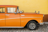 Cuba Fuerte Collection - Close-up of Retro Orange Car