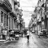 Cuba Fuerte Collection SQ BW - Street Scene Havana II
