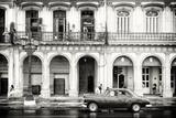 Cuba Fuerte Collection B&W - Vintage Car in Havana