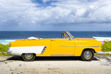 Cuba Fuerte Collection - Yellow Car Cabriolet