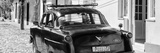 Cuba Fuerte Collection Panoramic BW - Old Ford Classic Car II