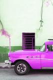Cuba Fuerte Collection - Classic American Hot Pink Car