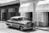 Cuba Fuerte Collection B&W - Classic American Car II