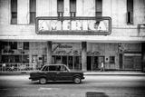 Cuba Fuerte Collection B&W - Teatro America - Havana