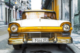 Cuba Fuerte Collection - Old Ford Orange Car