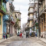 Cuba Fuerte Collection SQ - Street Scene Havana II