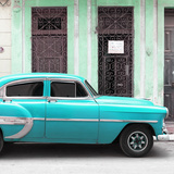 Cuba Fuerte Collection SQ - Bel Air Classic Turquoise Car