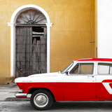 Cuba Fuerte Collection SQ - American Classic Car White and Red