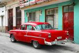 Cuba Fuerte Collection - Old Cuban Red Car