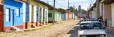 Cuba Fuerte Collection Panoramic - Cuban Street Scene in Trinidad