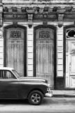 Cuba Fuerte Collection B&W - 813 Street Havana II