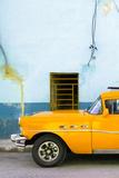 Cuba Fuerte Collection - Classic American Orange Car