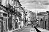 Cuba Fuerte Collection B&W - Street Scene in Havana Centro II