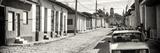 Cuba Fuerte Collection Panoramic BW - Cuban Street Scene in Trinidad