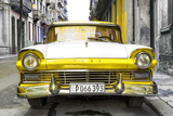Cuba Fuerte Collection - Old Ford Yellow Car