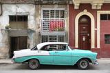 Cuba Fuerte Collection - Turquoise Classic Car in Havana