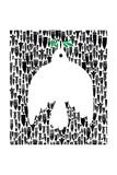 La colombe de la paix Reproduction d'art par Melinda Beck