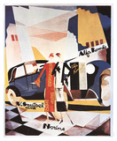 Alfa Romeo Reproduction d'art par Rene Magritte