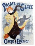 Palais de Glace Giclée par Jules Chéret