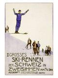 Rennen Der Schweiz  Ski