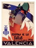 Festividad de Fallas Valencia