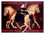 Circus Schumann  Apache Zu Pferd