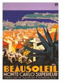 Beausoleil Giclée par Roger Broders