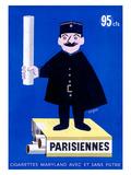 Cigarettes parisiennes Giclée par Raymond Savignac