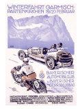 Winterfahrt Garmisch  Partenkirchen Car Race