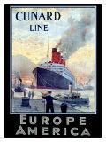 Cunard Line  Europe to America