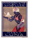Chocolate Amatller  Marca Luna