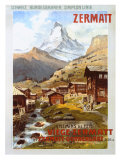 Swiss Alps  Zermatt Matterhorn