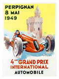 4th Grand Prix  Perpignan  1949