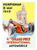4th Grand Prix  Perpignan  1949