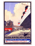 Paris-Havre-New York